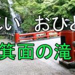 (2020)箕面の滝 じじいおひとり 近場で散歩 龍安寺 Vlog